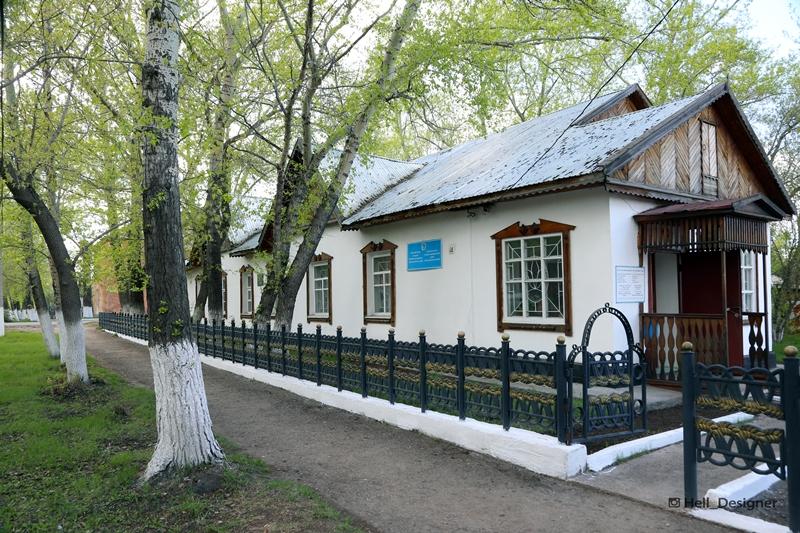 Музейдің сыртқы көрінісі